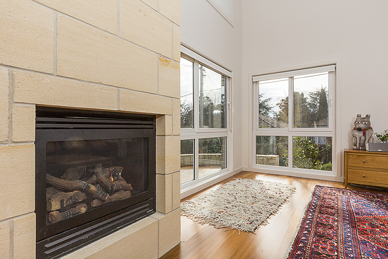 Griffith fireplace