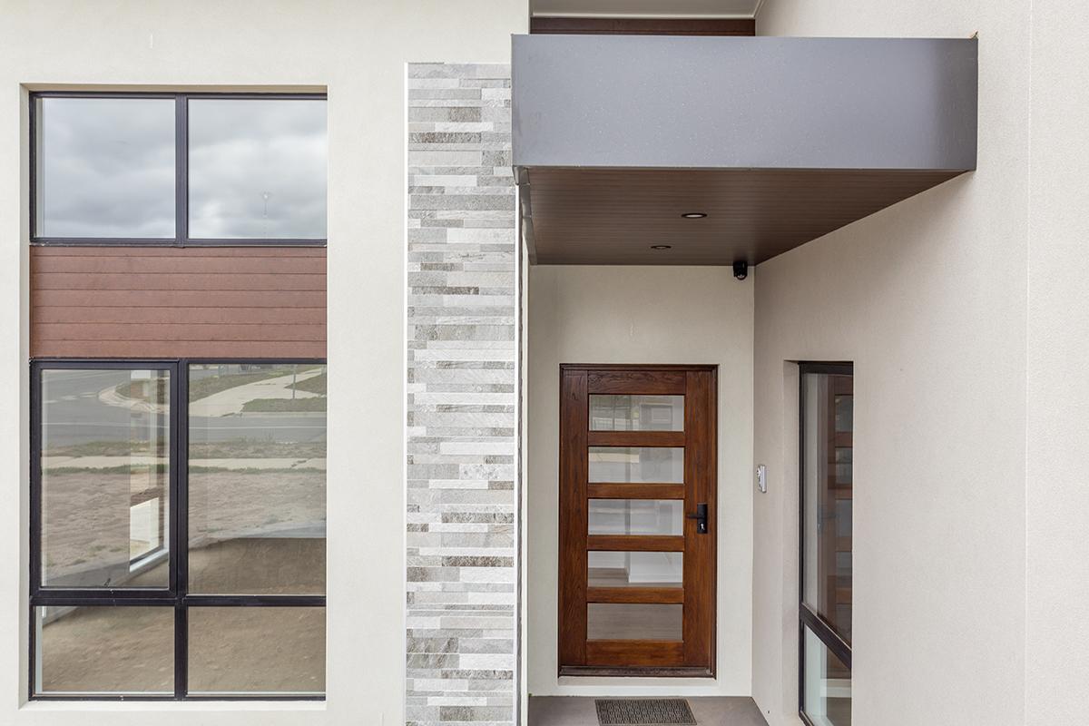 Denman facade details